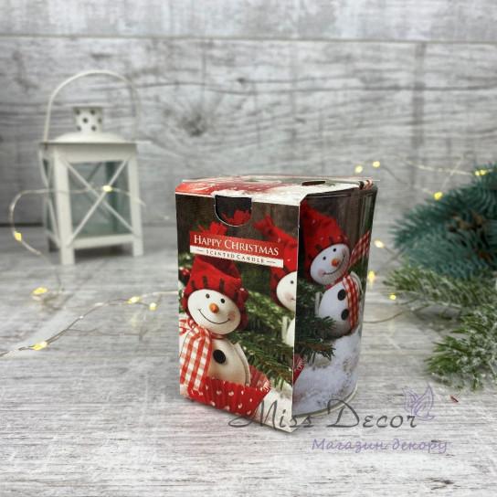 Свеча ароматическая - Счастливое Рождество
