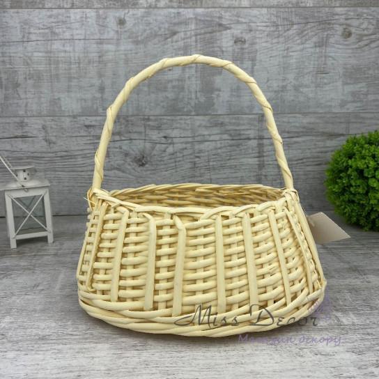Корзина сумочка желтая MIX TS-7432