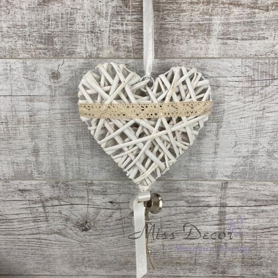 Сердце с лозы + колокольчики HY4359D
