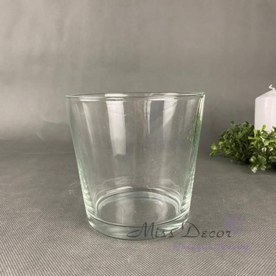Стеклянная вазочка 13 см