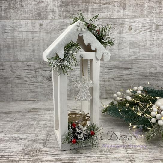 Новогодний домик малый