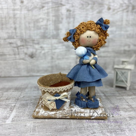 Кукла интерьерная мини