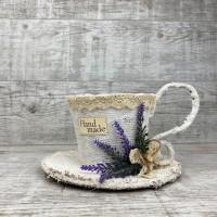 Чашка средняя lavender