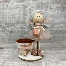 Интерьерная кукла нарядная *рандомный выбор цвета