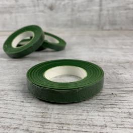 Тейп лента флористическая темно зеленая