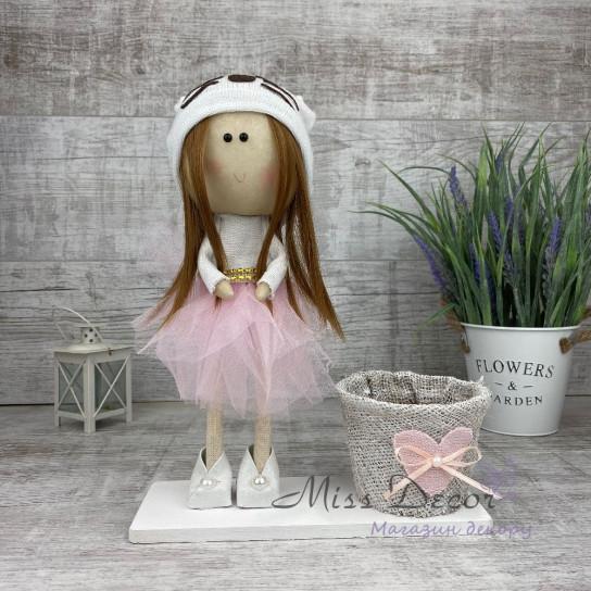 Кукла интерьерная кошечка