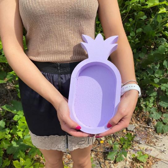 Пенобокс ананас фиолетовый