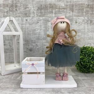 Интерьерная кукла  + коробочка *рандомный выбор цвета