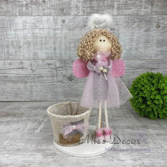 Интерьерная кукла ангелочек *рандомный выбор цвета