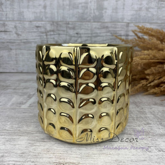 Керамика кашпо gold 05.234.13