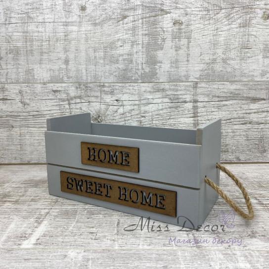 Ящик деревянный home sweet home