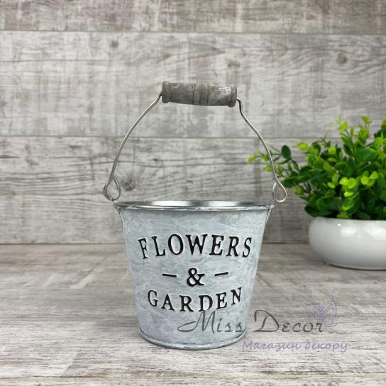 Ведро flowers & garden малое PY7702