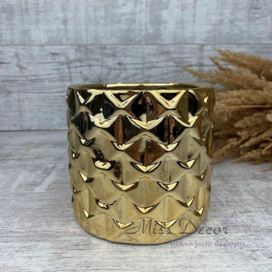 Керамика кашпо gold 05.238.13