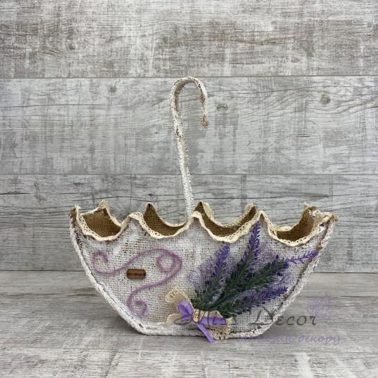 Зонтик 3 D малый lavender