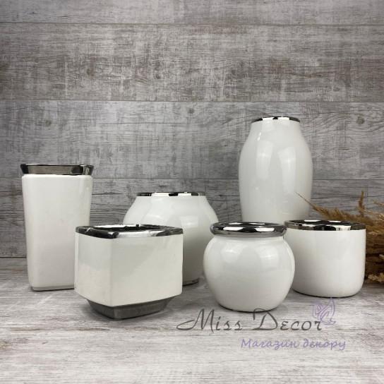 Керамика ваза круглая большая LJ17A01121B