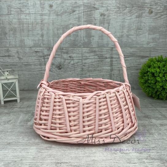 Корзина сумочка розовая MIX TS-7432