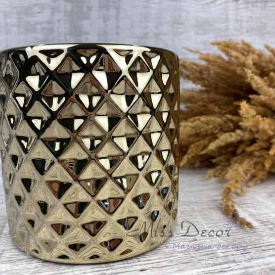 Керамика кашпо gold 09.121.14