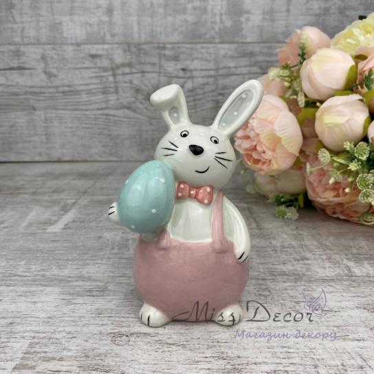 Керамика зайчик малый розовый JY19K022G/F