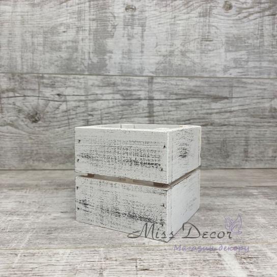 Дерево коробочка белая