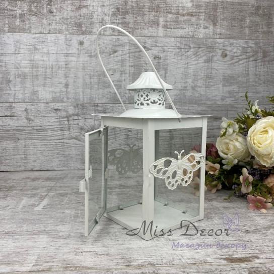 Декоративный фонарь металлический