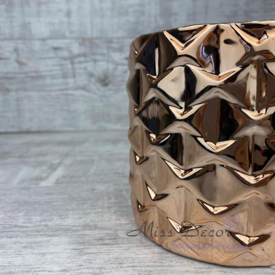 Керамика кашпо golden rose узоры 05.239.13