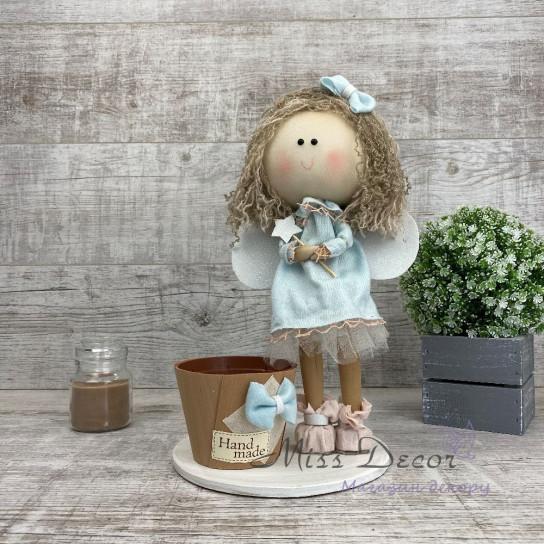 Кукла интерьерная большая Ангел