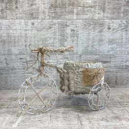 Велосипед малый белый