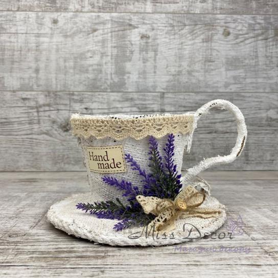 Чашка малая lavender