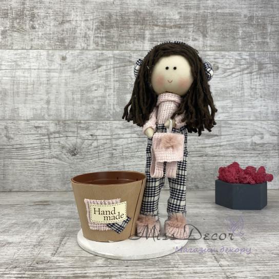 Интерьерная кукла в штанишках