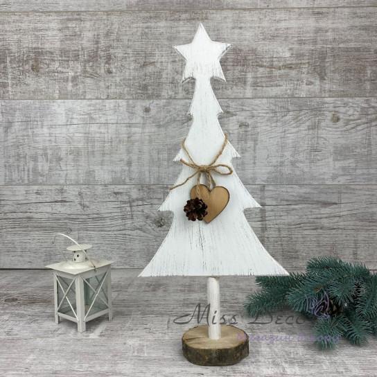Дерево елочка белая