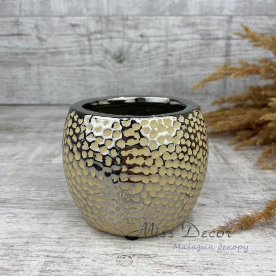 Керамика кашпо gold 48.029.11