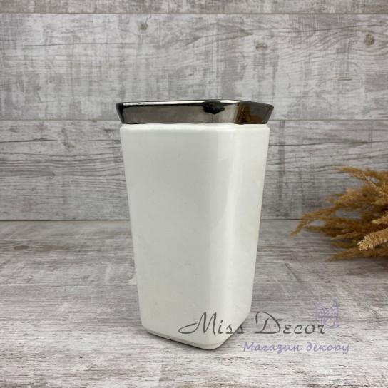 Керамика ваза квадратная высокая LJ18S072DL