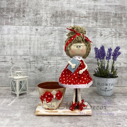 Интерьерная кукла учительница