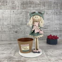 Интерьерная кукла  *рандомный выбор цвета