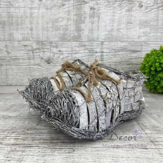 Ботиночки кашпо пара