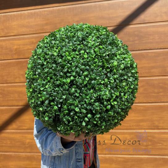 Шар зеленый самшит 42 см