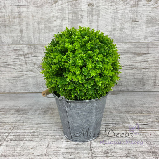 Шар декоративный зеленый