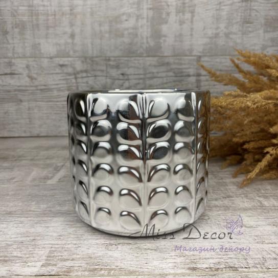 Керамика кашпо silver 05.233.13