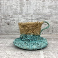 Чашка мини мятная