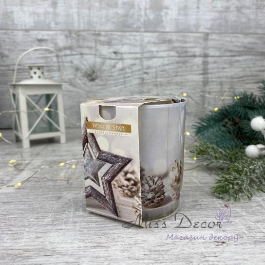 Свеча ароматическая - Зимняя звезда