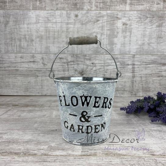 Ведро flowers & garden PY7703