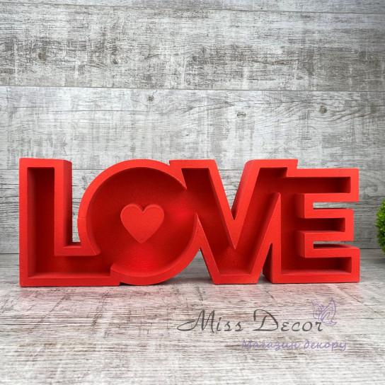 пенобокс love красный