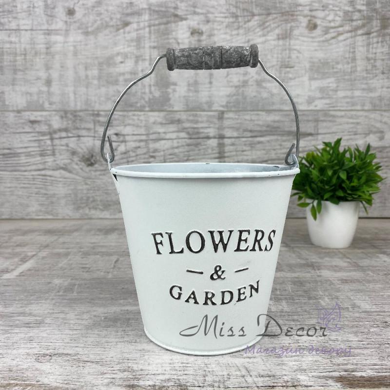 Металлическое ведро flowers&garden 130590