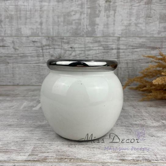 Керамическая ваза круглая малая  LJ15A5348AA