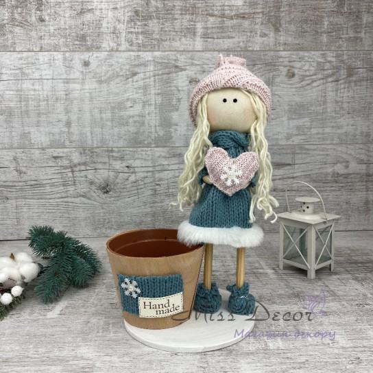 Интерьерная кукла уютная