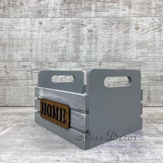 Деревянный ящик home
