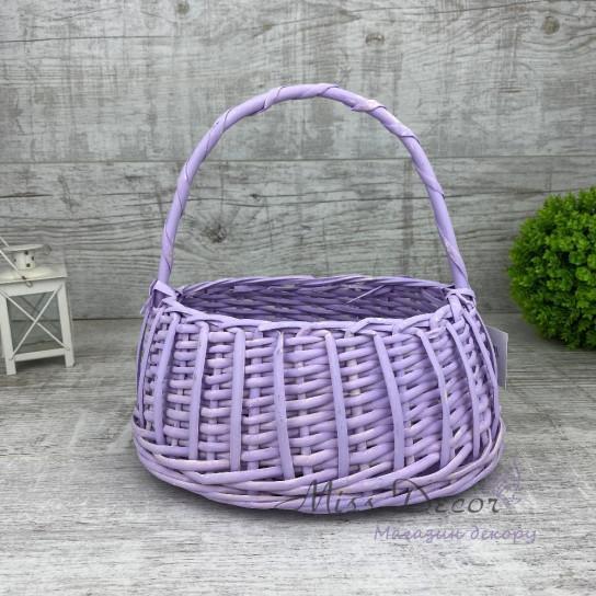 Корзина сумочка фиолетовая mix TS-7432