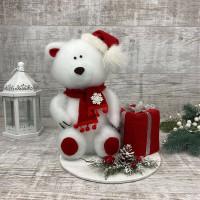 Новогодний мишка + подарок