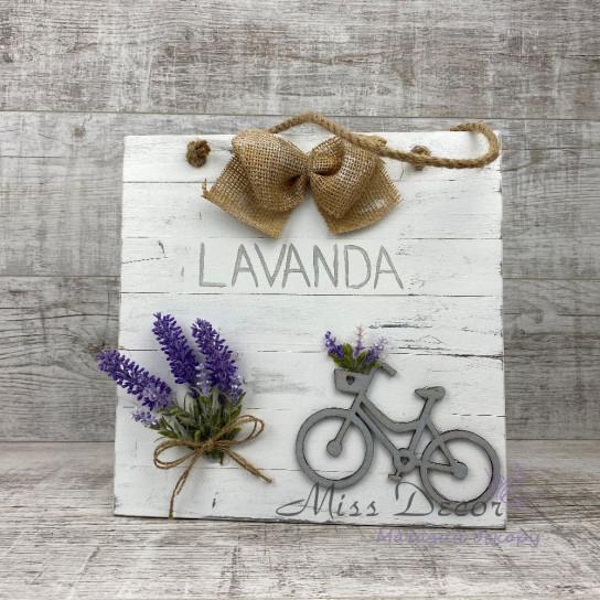 Доска декоративная lavander белая