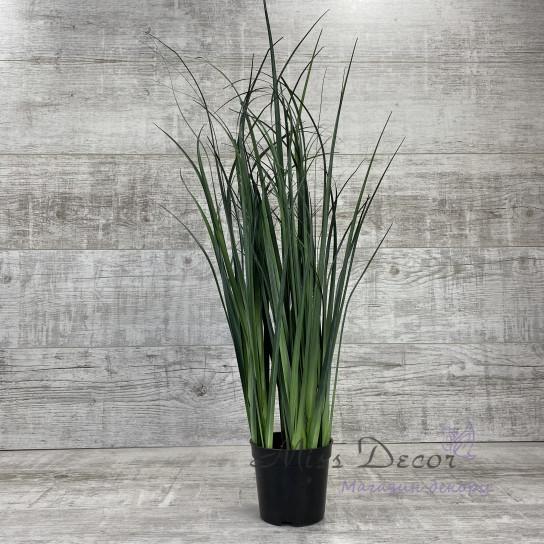 Исскуственная трава в горшке60 см VP601
